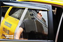 City Transport (klauslang99) Tags: klauslang streetphotography city transport taxi person reflection cuenca ecuador