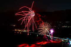 43 (morgan@morgangenser.com) Tags: pacificpalisaddes beach belairbayclub blue celebrate fireworks color iso100 july3rd loud nikon night ocean orange pch people red reflection special spectacular streaks timeexposire tripod yellow amazing