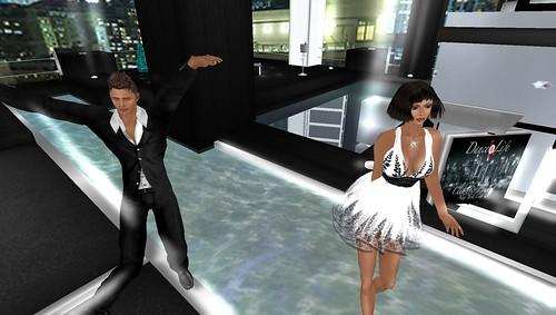 xavier, raftwet at dance4life party