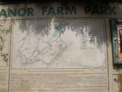 Manor Farm Map Manor Farm Park Sign Map