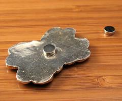 "garnet ""pin"" back II (maianajewel) Tags: pin brooch magnet magnetic garnet artclaysilver finesilver"