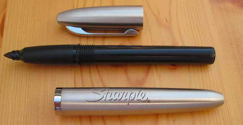 Stainless Steel Sharpie Refillable Permanent Marker: Disassembed