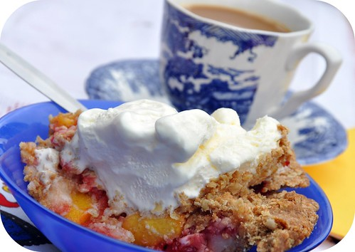 Strawberry Peach Pear Pie