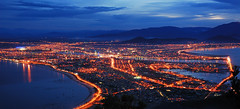 Da Nang City (gienkhan) Tags: longexposure light cloud mountain night twilight explore frontpage sontra vitnam nng mywinners colorphotoaward sntr danangbynight mygearandmepremium mygearandmebronze gienkhan