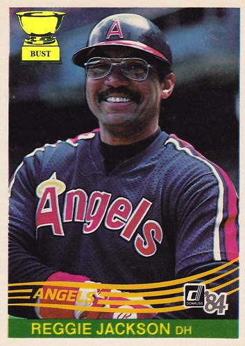 Reggie Jackson 1984 Donruss
