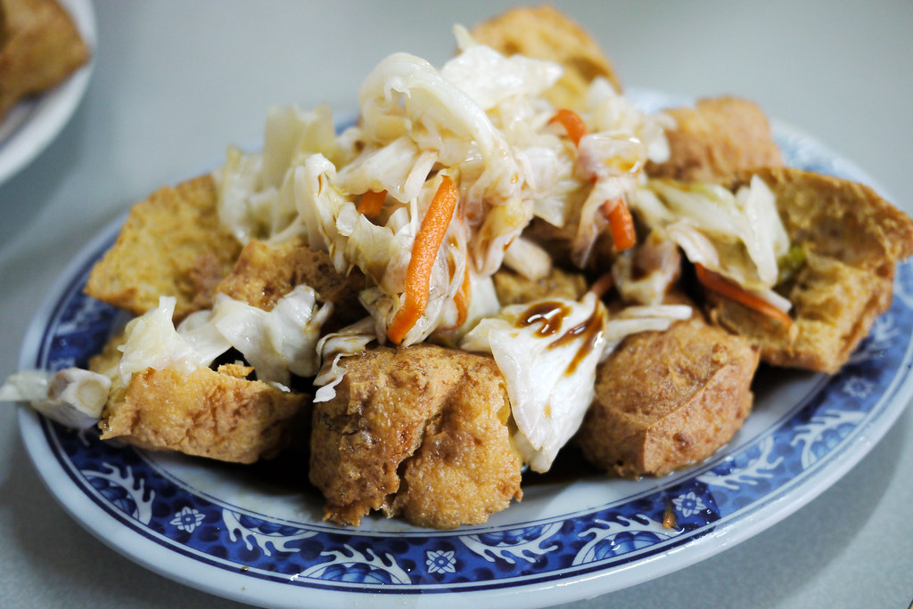 萬丹 阿國臭豆腐