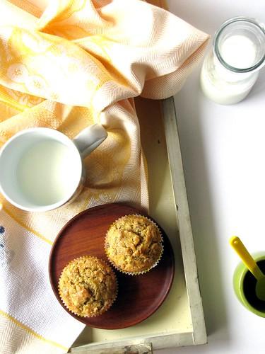 Muffin al Fiordaliso, Rosmarino e Miele