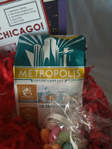 Kate Parker Wedding Metropolis coffee chicago welcome basket