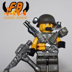 Space Marine 2 (Brick Mercenaries Custom Minifigures) Tags: amazing lego mini creation figure custom armory minifigure moc brickarms brickforge