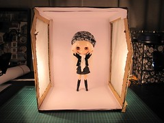 Makeshift Light Box