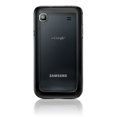 Samsung Galaxy S (rear view)