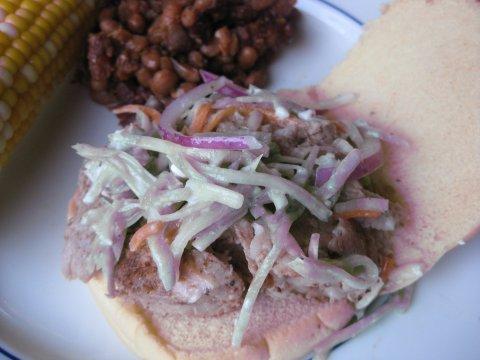 Fwd: Pulled pork recipe and pics
