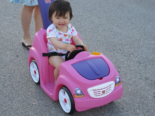 Hazel's new car!