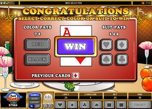free Buffet Bonanza gamble bonus game