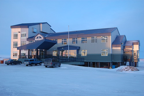 Yuut Elitnaurviat-People's Learning Center Building in Bethel, Alaska.