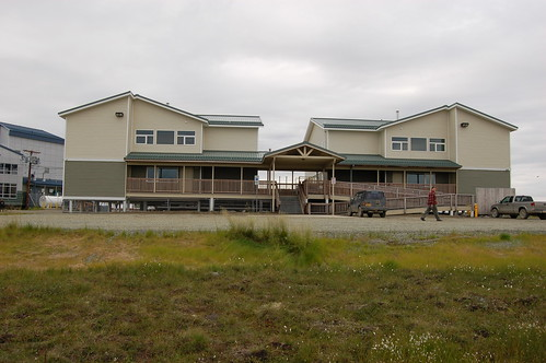 Two Dormitories for Students in Bethel, Built with funds provided by USDA.