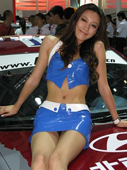 2010 Shenzhen International Auto Show (zikay's photography(no PS)) Tags: cute sexy girl beauty promo model exhibition hyundai