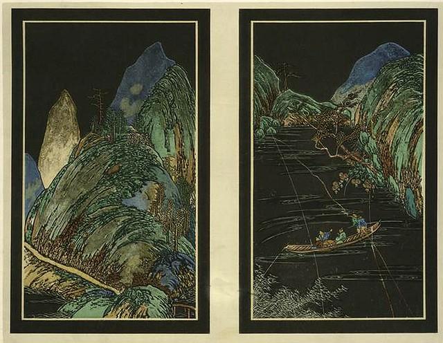 025-Paisajes-Les Laques du Coromandel  1923- Eugene Alain Seguy