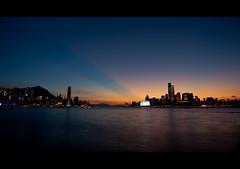Magic Hong Kong (terencehonin) Tags: sunset hk hongkong nikon f14 24mm nikkor magicmoment 耶穌光 d700 afsnikkor24mmf14ged