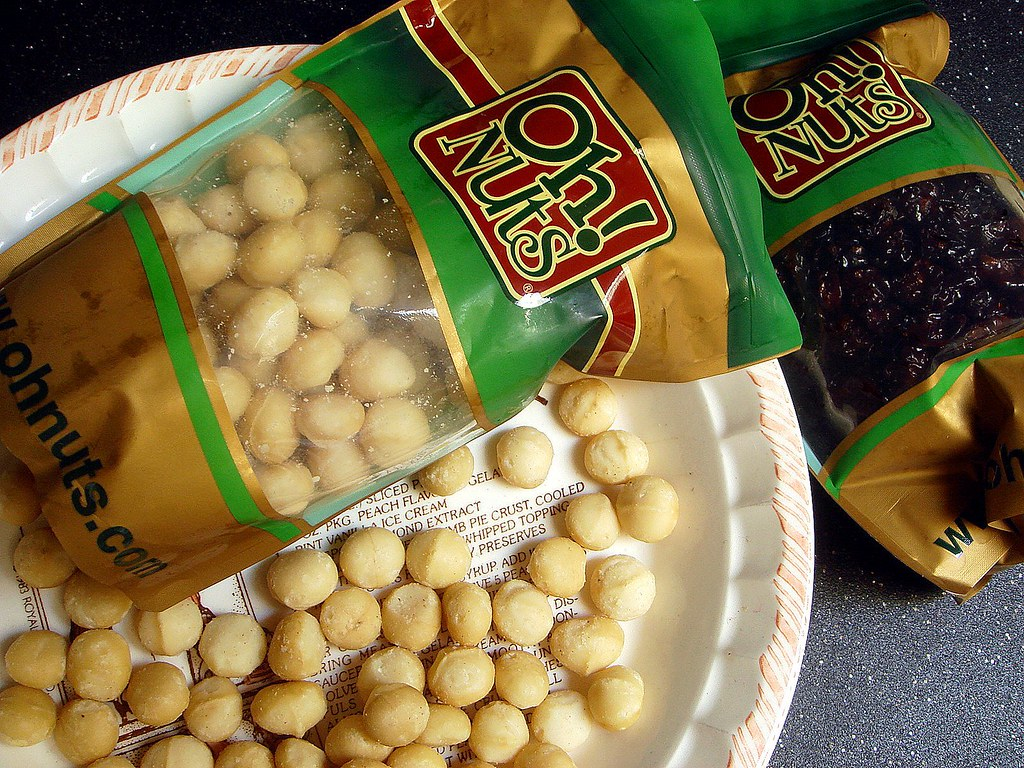 Oh Nuts macadamia nuts