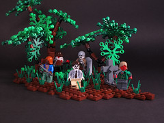 The Haunted Wood (Regonold) Tags: wood forest woods lego surreal haunted madness undead ghosts demons thriller moc sirregonold