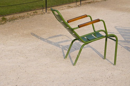 Tuileries chairs, Paris