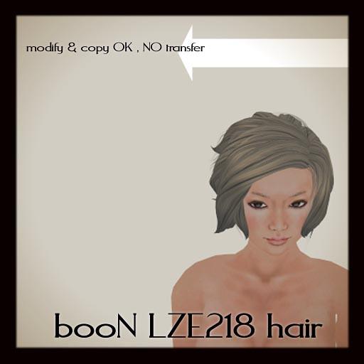 booN LZE218hair