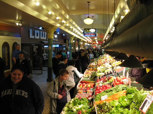Produce at Pike Place Market