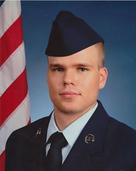 New Airman:-) (baltic_86 (mostly off)) Tags: sanantonio texas airforce bootcamp lacklandafb airman baltic86 graduation62510 trs326flt438