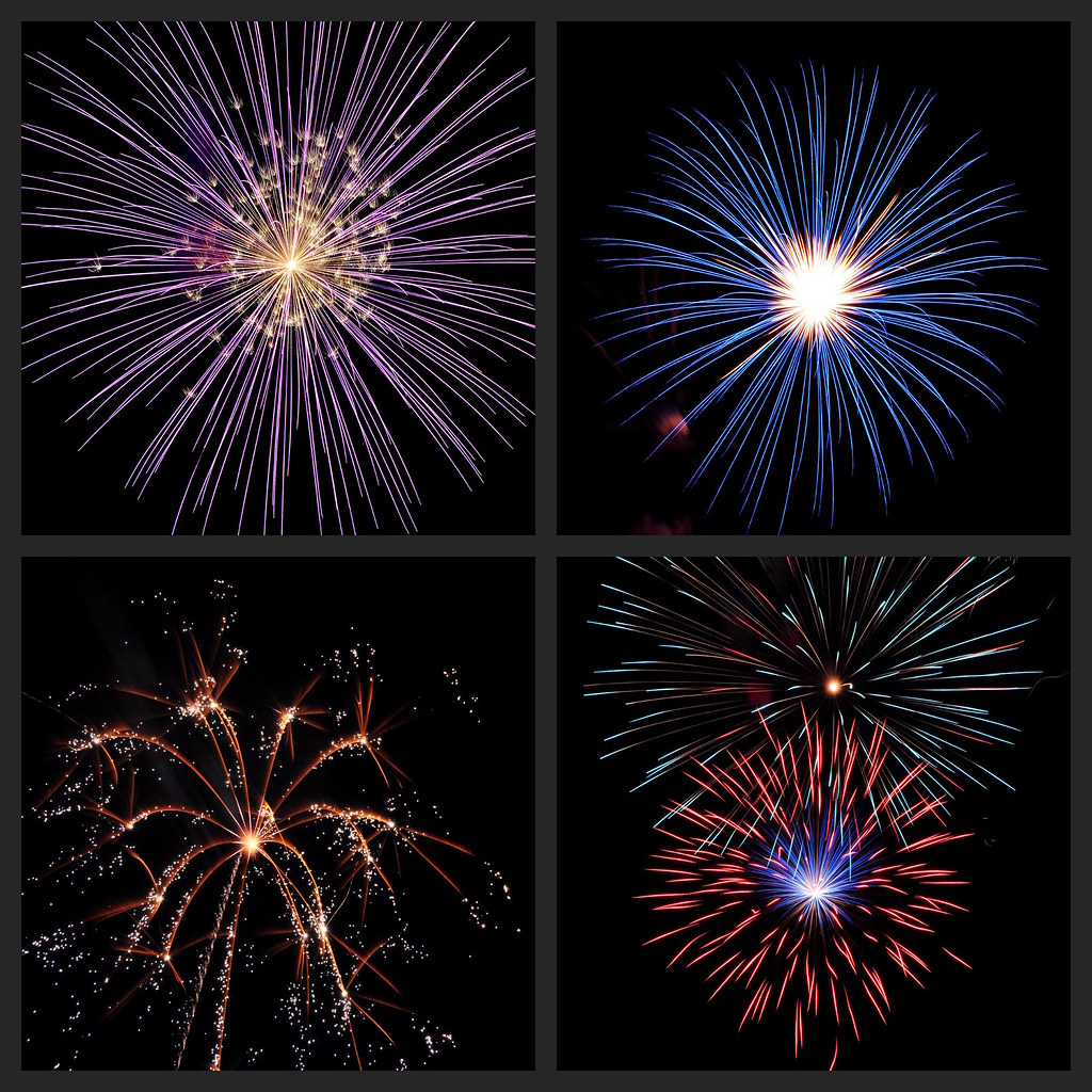 Fireworks Collage