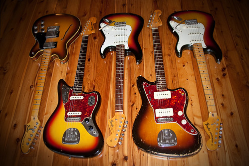 Stevpas68 Fender Sunburst Collection