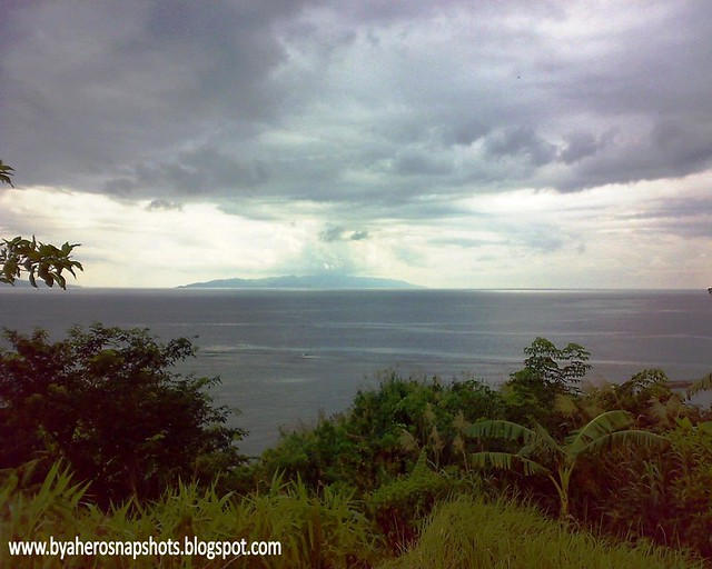 view of Albay Gulf in Manito