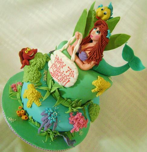 Little Mermaid for Caitlin's 7th
