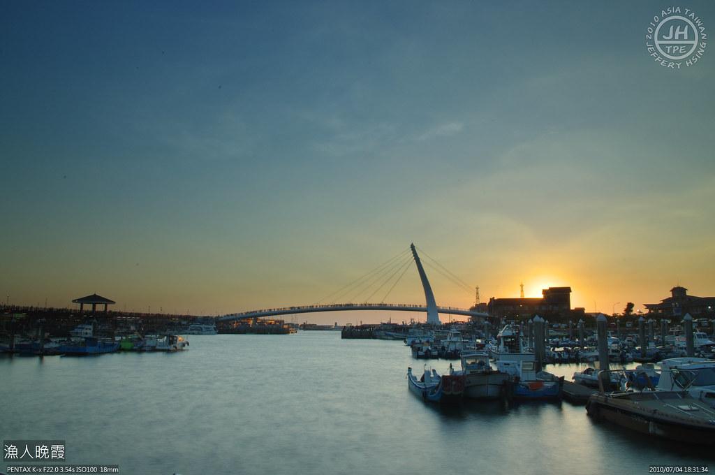 20100704 漁人晚霞