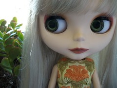 Sloane got tagged... (*phillaine*) Tags: chat doll blythe custom cappuccino takara matte sloane rbl phillaine