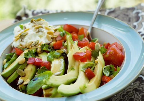 Avocado Salad 1/2