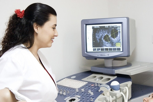 Doctor with Medical Device