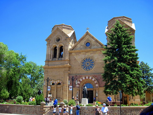 St Francis Cathedral in Santa Fe 20100620