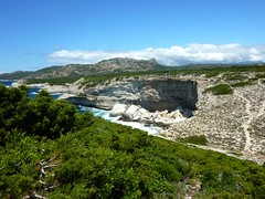Boucle du Fazziu : falaises vers le Fazziu