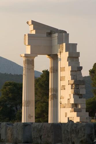 Ascleipos temple