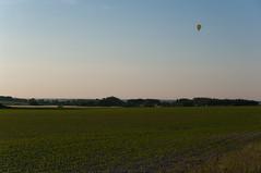 Montgolfire  Givry-sur-Aisne (David Cazareth) Tags: pentax terre agriculture lignes k20 2010 plaine mas paisible crales cultiv