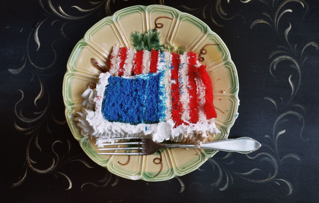 fourth o july cake