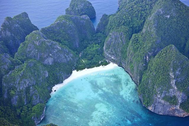 Maya Bay Phi-Phi Islands, Phuket, Thailand.