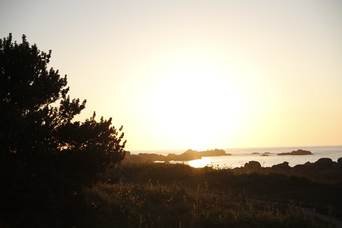 Magic hour in Brignogan