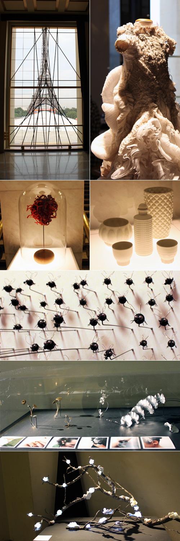 Œuvres exposées pour Imaginez Maintenant au Palais de Chaillot
