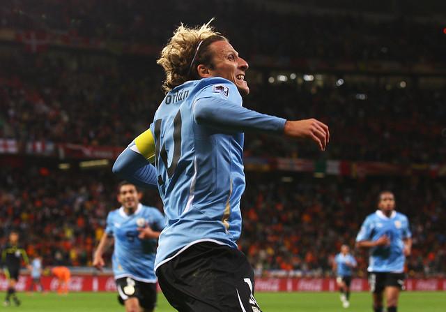 Diego Forlan Holland Uruguay World Cup Sudáfrica