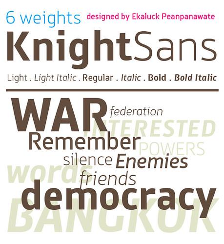 KnightSans™T26