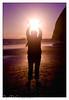 Harnessing The Sun's Rays (David Richeson) Tags: sunset beach oregon eoshe platinumheartaward pentaxart