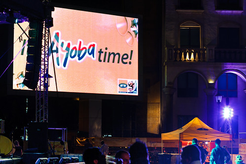 MTN Fan Zone Montecasino - SWC Match Holland vs Uruguay
