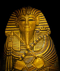 King Tut at the Denver Art Museum (Thad Roan - Bridgepix) Tags: art statue museum gold kingtut colorado king dam egypt exhibit denver exhibition egyptian pharaoh tut tutankhamun 201007